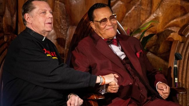 Farrakhan delivers insult while denying he's anti-Semitic