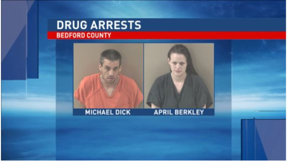 Police: 3 face drug charges after meth bust in Bedford County | WJAC
