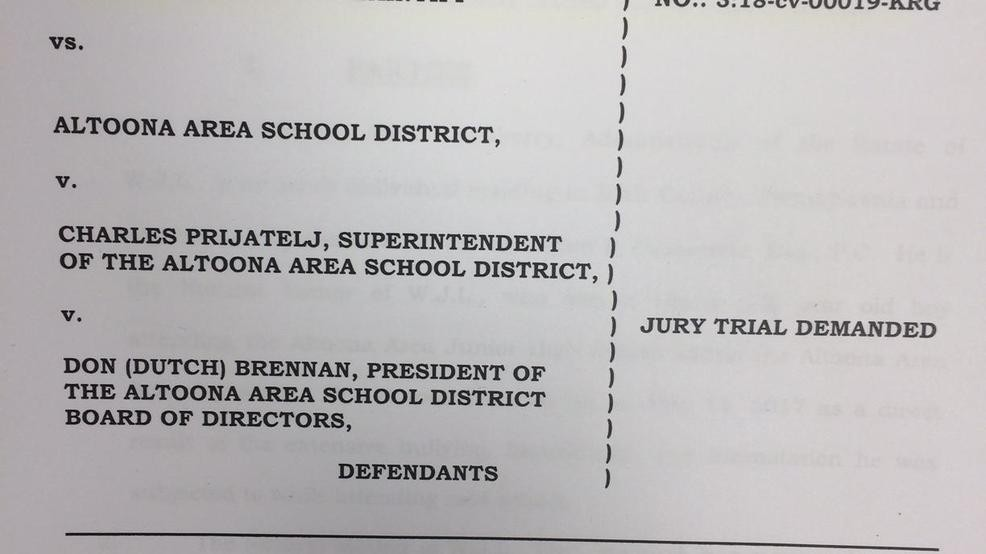 Judge dismisses federal bullying lawsuit against Altoona Area School
