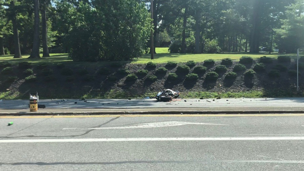 1 person seriously hurt in motorcycle, car crash on Route 36