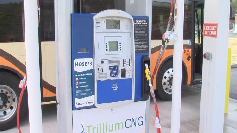 Natural Gas Stations >> Compressed Natural Gas Fueling Stations Opens In Altoona Wjac