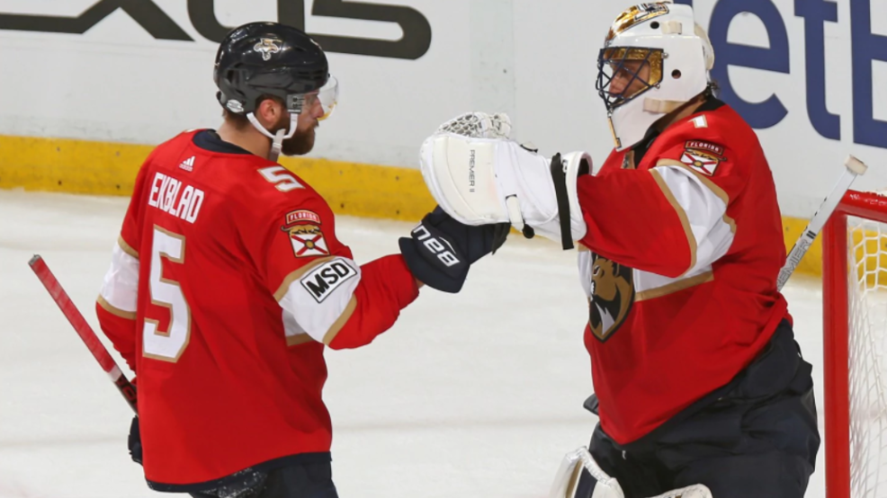 Pens Battle Back Ultimately Fall To Panthers Ending 6 Game Win