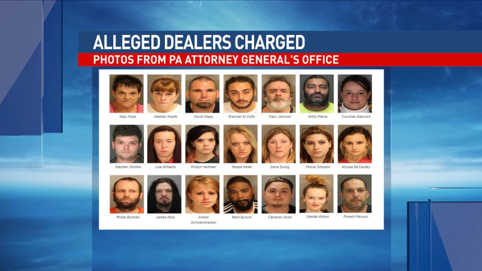 31 suspected drug dealers charged in Blair County bust | WJAC