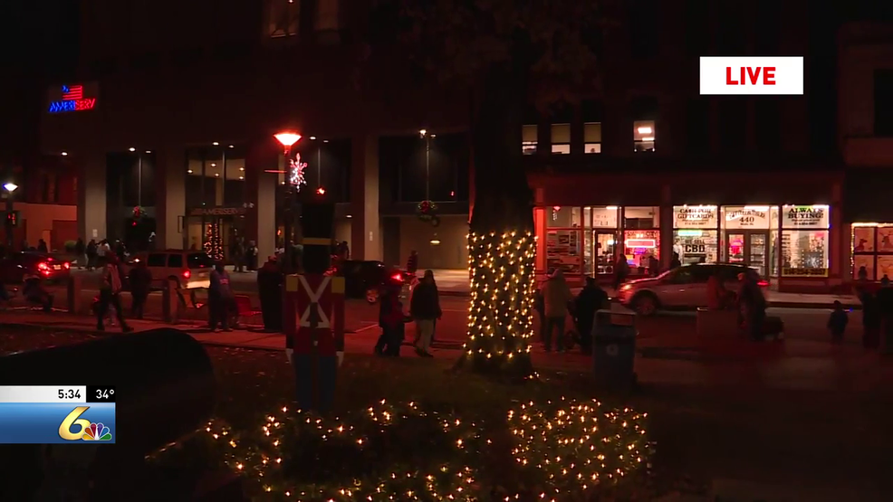 How Many Lights Were On The Christmas Tree In Johnstowns Central Park In 2020 Light up night in Johnstown helps kick off the holidays | WJAC